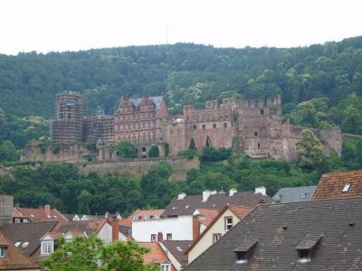 ドイツ ロマンティック街道6日間の旅(2) ハイデルベルク