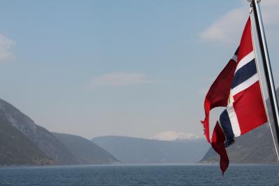 ノルウェー最大のソグネフィヨルドクルーズ