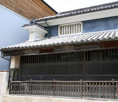 徳島高知ドライブ旅行17-うだつの町をあるく,オデオン座(脇町劇場),脇町(舞中島)潜水橋