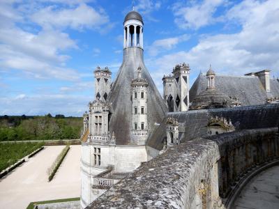 フランスの8つの世界遺産を巡る旅【10】5日目(【世界遺産】シャンボール城)