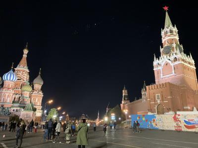 GW*ロシアとイスラエルの旅*9日間②モスクワの赤の広場と寝台列車体験