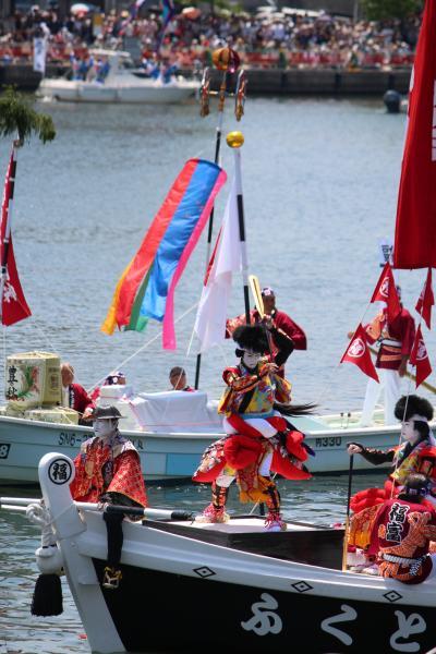 松江城山稲荷神社式年神幸祭「ホーランエンヤ」還御祭