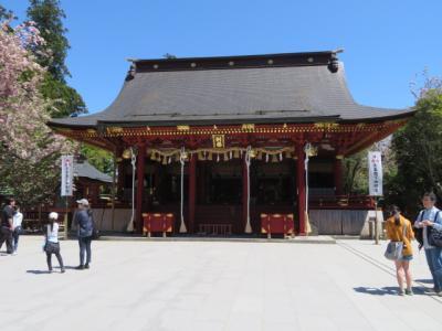 塩釜の水産市場に寄ってから鹽竈神社へ更に多賀城の陸奥総社宮へ