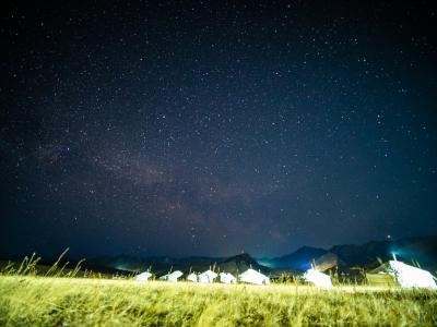 '19 モンゴル02 : テレルジのゲルキャンプに行き満天の星空を見る