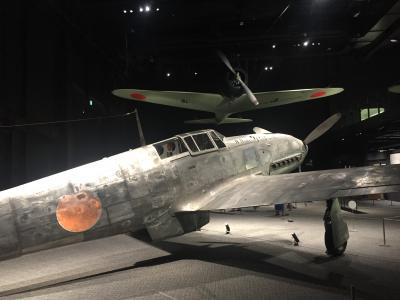 岐阜3泊ドライブ ⑤ 戦闘機・飛燕に感激  かがみはら航空宇宙博物館