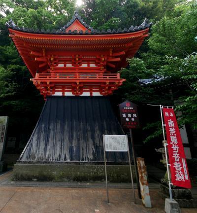 2019.5和歌山・和歌の浦ドライブ旅行2-朝,紀三井寺を参拝