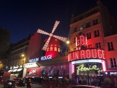 文圧で語るヨーロッパ旅行記 その3 パリ北駅とムーランルージュ