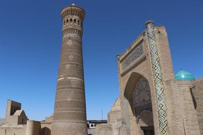ウズベキスタン・トルクメニスタンの旅(15)~ブハラ3 カラーン・ミナレット、イスマイール・サーマニー廟、カラーン・モスク~