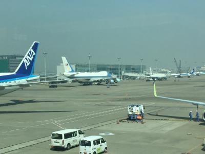 今年国内線初搭乗、急に決まって博多へ出張