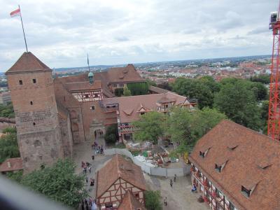 オーストリア・セルデン&ドイツ・ニュルンベルクとミュンヘンの旅【19】 ジンヴェル塔からの素晴らしい眺望