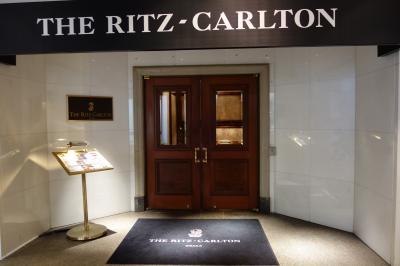 昔から一度泊りたかったホテル ザ・リッツカールトン大阪