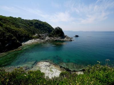 和歌山ドライブ旅行3-雑賀崎,番所の鼻,番所庭園 海がきれい