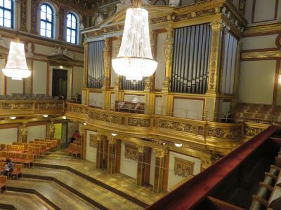ウィーン滞在9回目(8。楽友協会でさらに3回音楽会を楽しむ)
