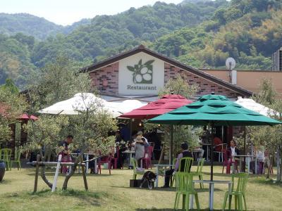 初夏の日差しが降り注ぐ江田島で、食べまくりドライブ♪~江田島オリーブファクトリー&豆ヶ島&てくてくさつまいも本舗~