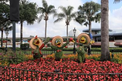 GWのフロリダ、テーマパーク(3,4日目)ディズニーワールド(エプコットとハリウッド・スタジオ)