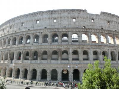 2019GW イタリア07:世界遺産ローマ コロッセオとコンスタンティヌスの凱旋門