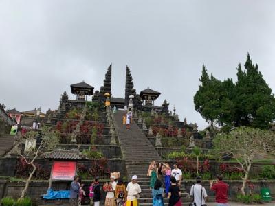 ブサキ寺院とアグン山噴火最新情報