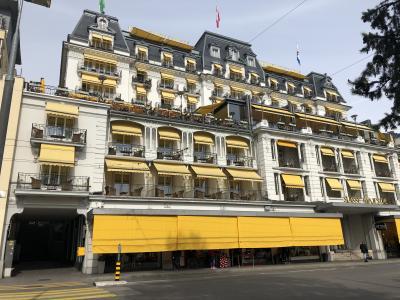 2019春レマン湖畔の街Montreuxを拠点にチョコレート列車、世界遺産のLavaux地区を堪能!