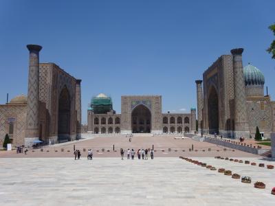 青の絶景を見にウズベキスタンに行ってきました☆彡 (3)サマルカンド~タシケント~帰国編