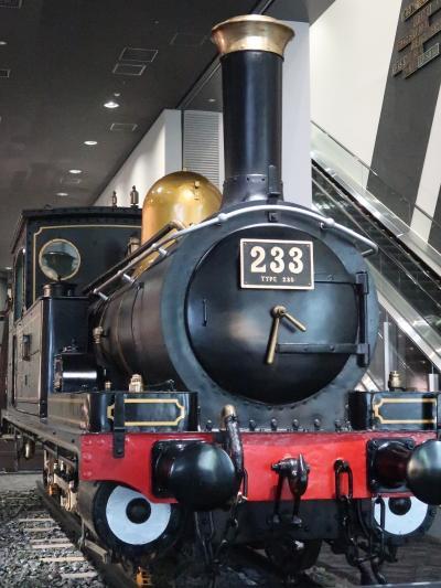 梅小路公園-7 京都鉄道博物館e 本館展示ひとめぐり ☆鉄道の歴史・車両/記念品など
