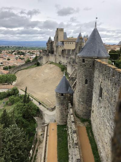 2019春  歴史的城塞都市世界遺産の街Carcassonne満喫!(Toulouse から日帰りの旅)