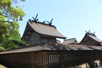 山陰へ2泊3日家族旅行①出雲大社、日御碕神社、稲佐の浜他