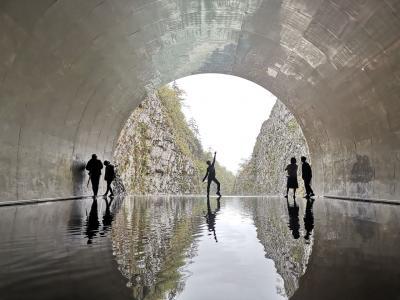美味しいお酒を求めて新潟へ②(清津峡トンネル、十日町)
