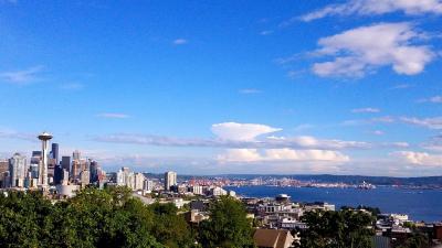 EMERALD City Seattle 一人旅 3日目