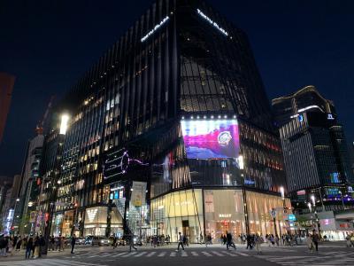 日本語学校友人との東京での再会~銀座での夕食と散策~