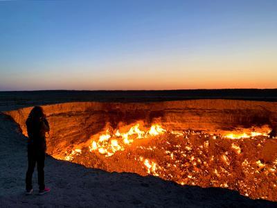 地獄の門オフ会(後):ヒヴァ~地獄の門~帰国編