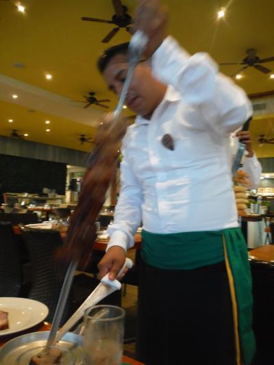 2018.3 メキシコ・リビエラ・マヤへ-ハードロックホテルのレストラン-2