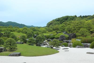 山陰へ2泊3日家族旅行②足立美術館、松江城、美保神社、境港水木しげるロード他