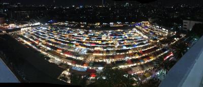ホアヒンへは空港シャトルバスが一番(2019)とバンコク夜景