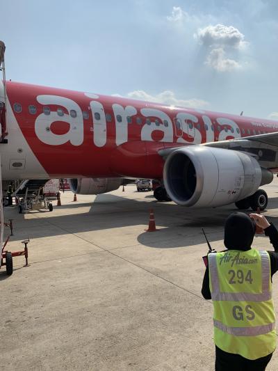 エアアジアでバンコクへ!