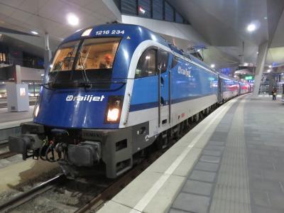 ウィーンから特急列車でプラハへ日帰りの旅