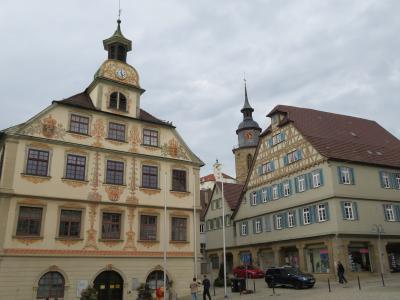 心の安らぎ旅行(2019年 5月 Vaihingen ファイヒンゲン Altstadt 旧市街♪)