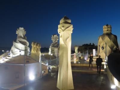 2018 ヨーロッパ周遊 <バルセロナ編> Vol2.世界遺産とガウディ巡りの3日目