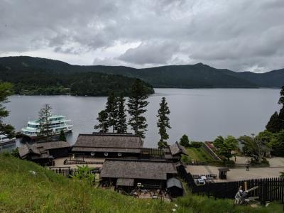 芦ノ湖湖畔散歩と元箱根石仏石塔群めぐり・その1