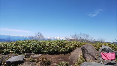 快晴で360°パノラマ、北・南アルプスは絶景!