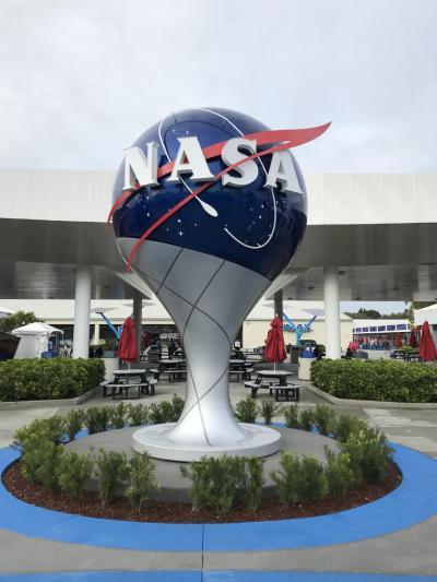 海外出張の休日に行く、『ケネディ宇宙センター』