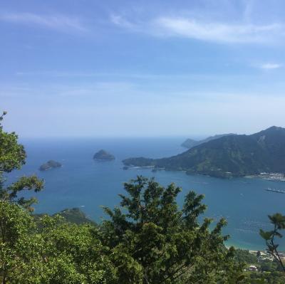 熊野古道 伊勢路 馬越峠から絶景の天狗倉山へ