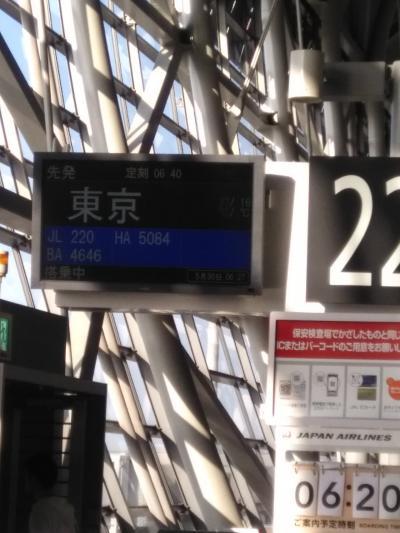 東京2泊3日