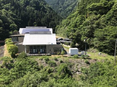 飯田線秘境駅巡り:大嵐駅、秘湯「湯の島温泉」へ