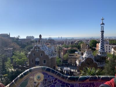 2019GW スペイン6日目  バルセロナ  ~グエル公園、サグラダファミリアを満喫~