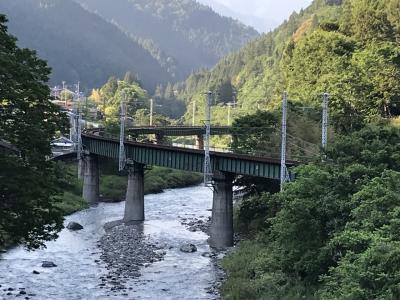 飯田線秘境駅巡り:城西駅、飯田線の名所「渡らずの鉄橋」と呼ばれる「S字鉄橋」