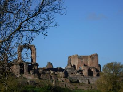 イタリア2019春-4 クインティーリ荘(Villa dei Quintili ) 、水はどこから? 入口は?