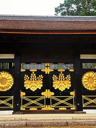 京都平成03 醍醐寺b 唐門 -壮麗な姿に修復- ☆西大門(仁王門)を見上げて