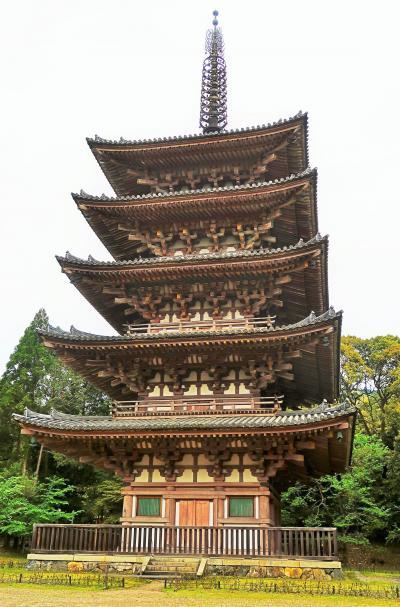 京都平成04 醍醐寺c 五重塔 -京都府下最古の建造物- ☆内部壁画も国宝に指定