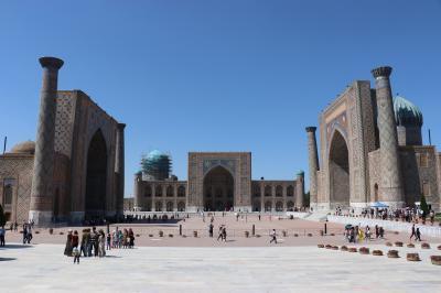 ウズベキスタン・トルクメニスタンの旅(17)~サマルカンド2 グル・アミール廟、レギスタン広場~