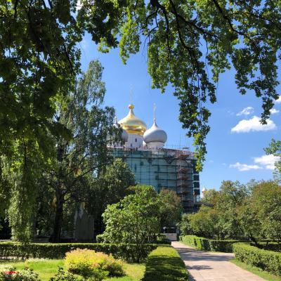 JALで行く 3回目のモスクワ 私のanother sky!~ DAY 3 お墓参りと白鳥の湖とアリョンカちゃん 編 *5